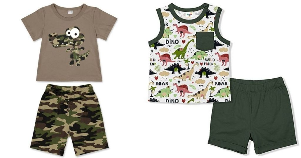 alligator outfit and dino toddler outfits