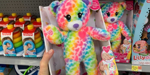 Build-A-Bear Plush Bear Only $7 on Walmart.com | Record Personalized Messages