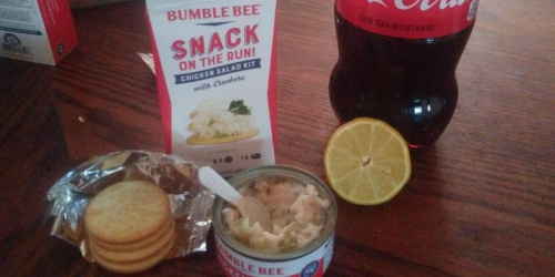 Bumble Bee Chicken Salad w/ Crackers 12-Pack Only $8.88 Shipped on Amazon
