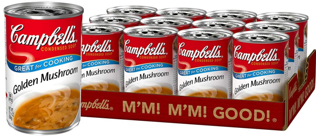 campbells golden mushroom soup