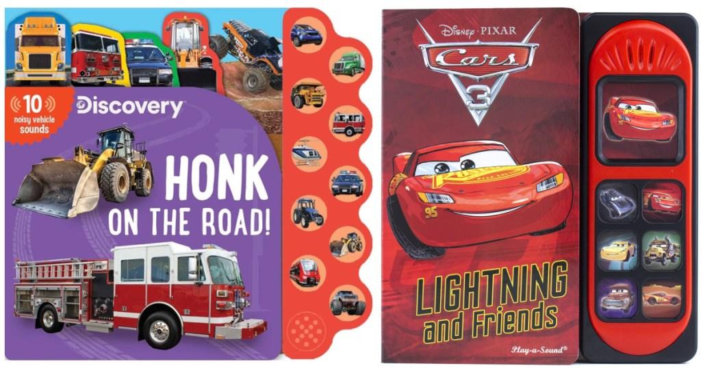2 cars board books