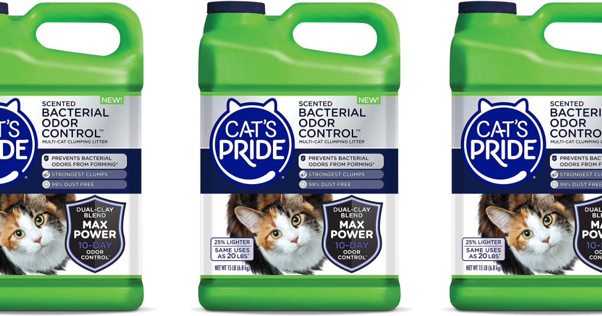 stock images of cat litter bottle