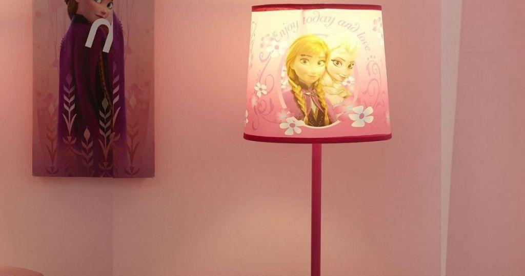 Frozen lamp turned on