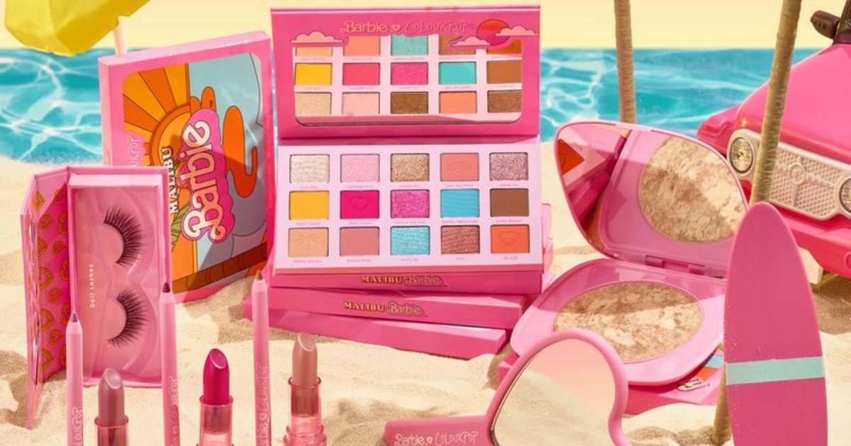 Malibu Barbie-inspired makeup