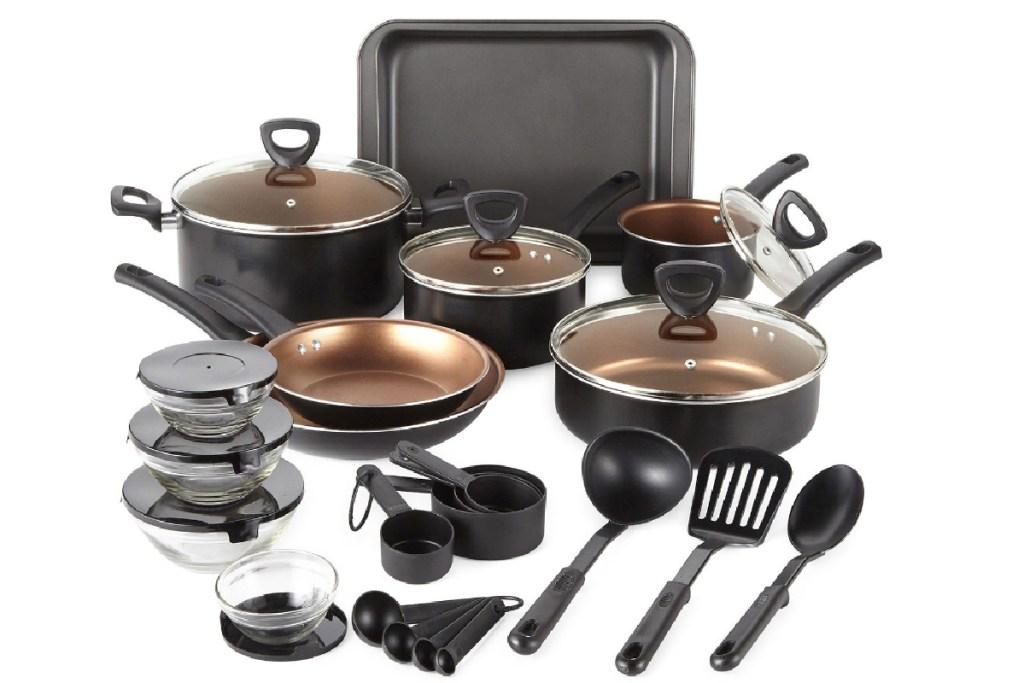 cooks 30-piece cookware