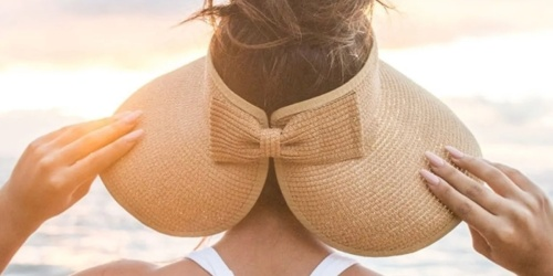 Women's Bow Visor Just $13.99 Shipped (Regularly $25) + More Summer Essentials