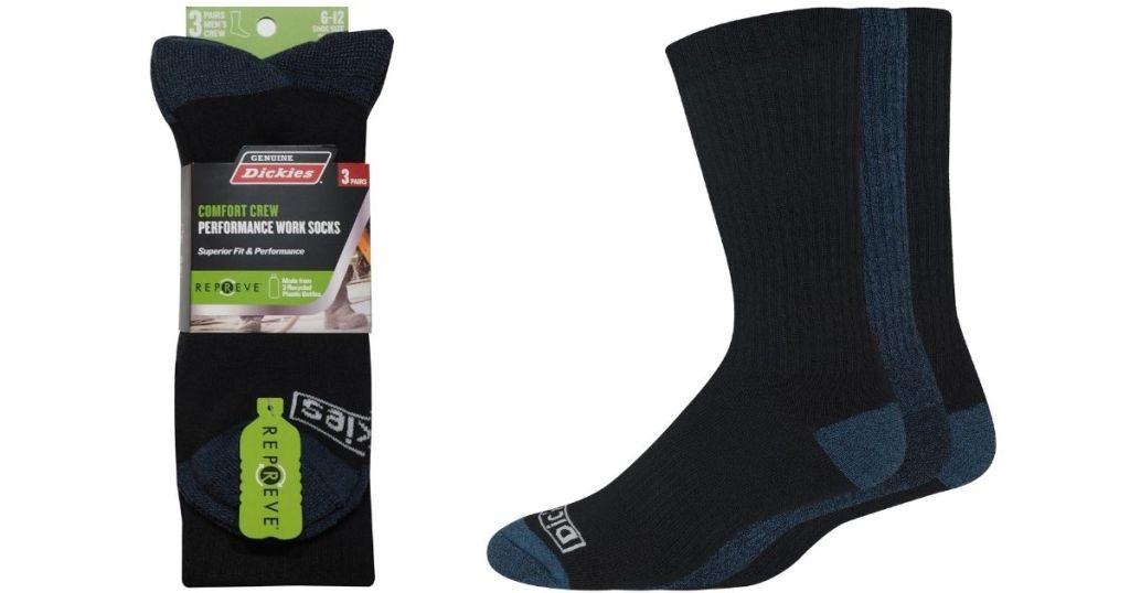 Dickies mens performance socks