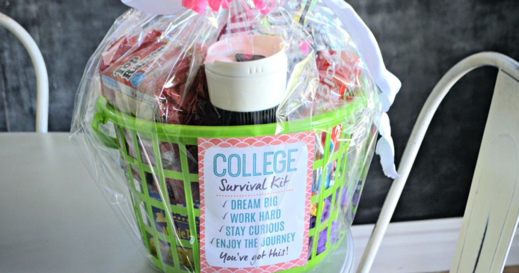 diy college survival kit from dollar tree items