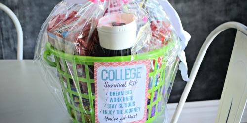 Make a DIY College Survival Kit With Dollar Tree Items!