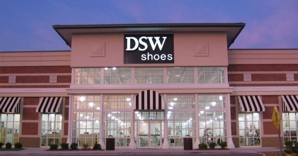 DSW Shoes store front