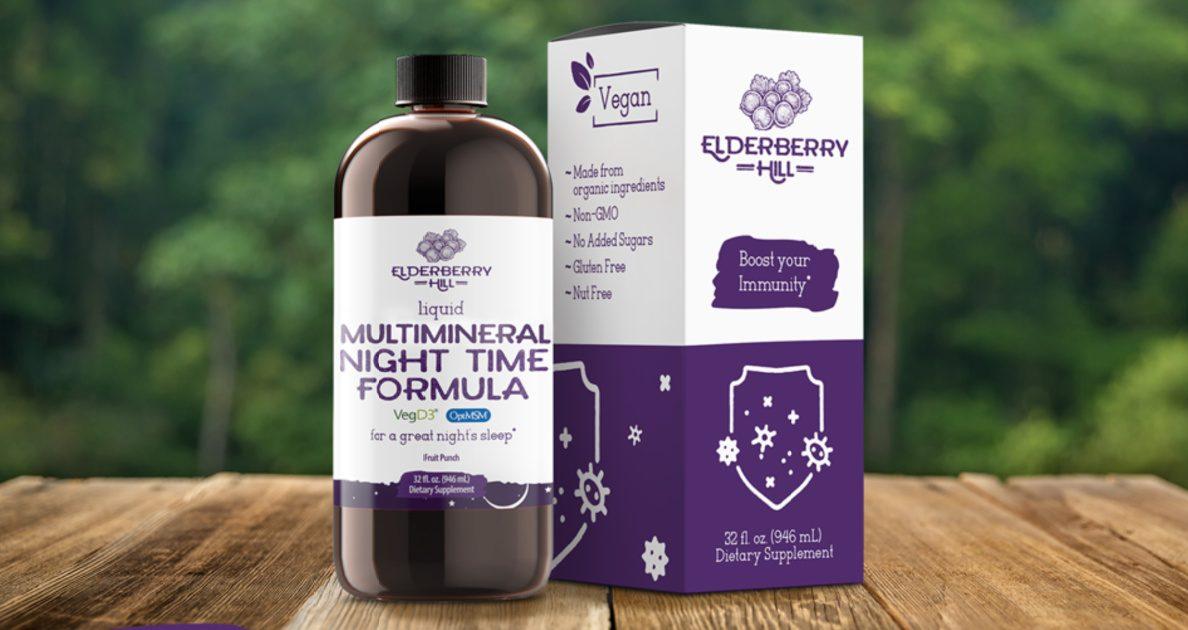 elderberry hill nighttime vitamin