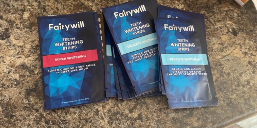 Teeth Whitening Strips 50-Packs from $9.69 Each Shipped on Amazon   Gently Removes Stains