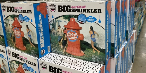 HUGE Fire Hydrant Sprinkler Only $29.98 on Sam's Club | Over 6 Feet