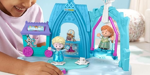Little People Disney Frozen Ice Skating Playset Just $11 on Amazon (Regularly $20)   Awesome Reviews