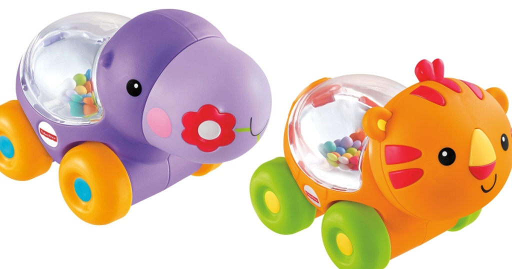 hippo and tiger pop toys for babies