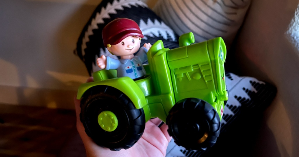 fisher price tractor