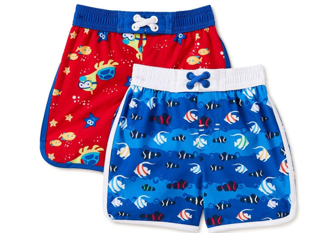 2 pack fishy toddler swim