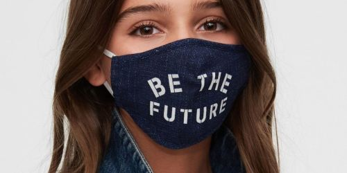 GAP Factory Women's & Men's Apparel & Accessories Under $6 | Reusable Face Masks Just 59¢ Each