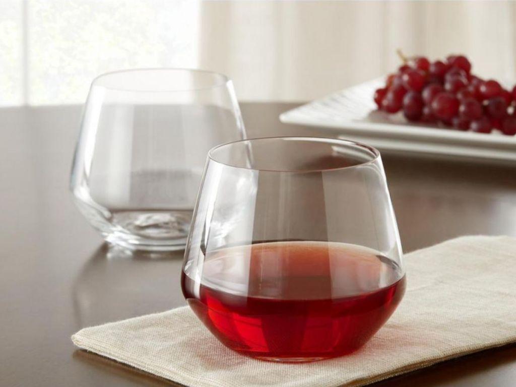 short glassware