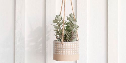 Hanging Planters from $12.59 + Free Shipping for Select Kohl's Cardholders