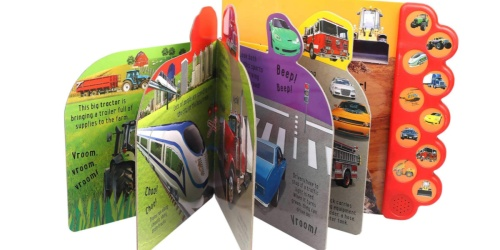 Honk on the Road! Board Book w/ Sounds Just $5.52 on Walmart.com (Regularly $13)