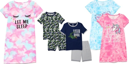Toddler/Kids Pajama Sets 2-Packs Only $9 on Zulily | Just $4.50 Each