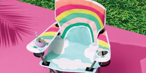 New Sun Squad Kids Chairs w/ Cupholders Just $15 on Target.com