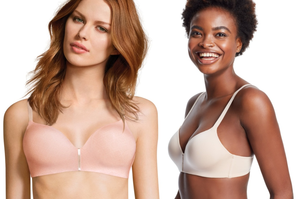 front and side maidenform bra