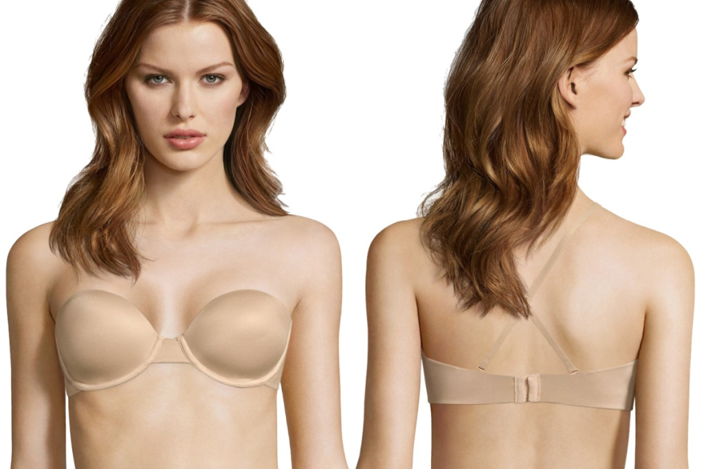 maidenform multiway bra front and back