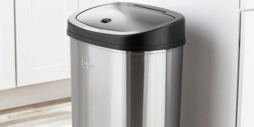 Mainstays Motion Sensor Trash Can Just $39.98 on Walmart.com (Regularly $48)
