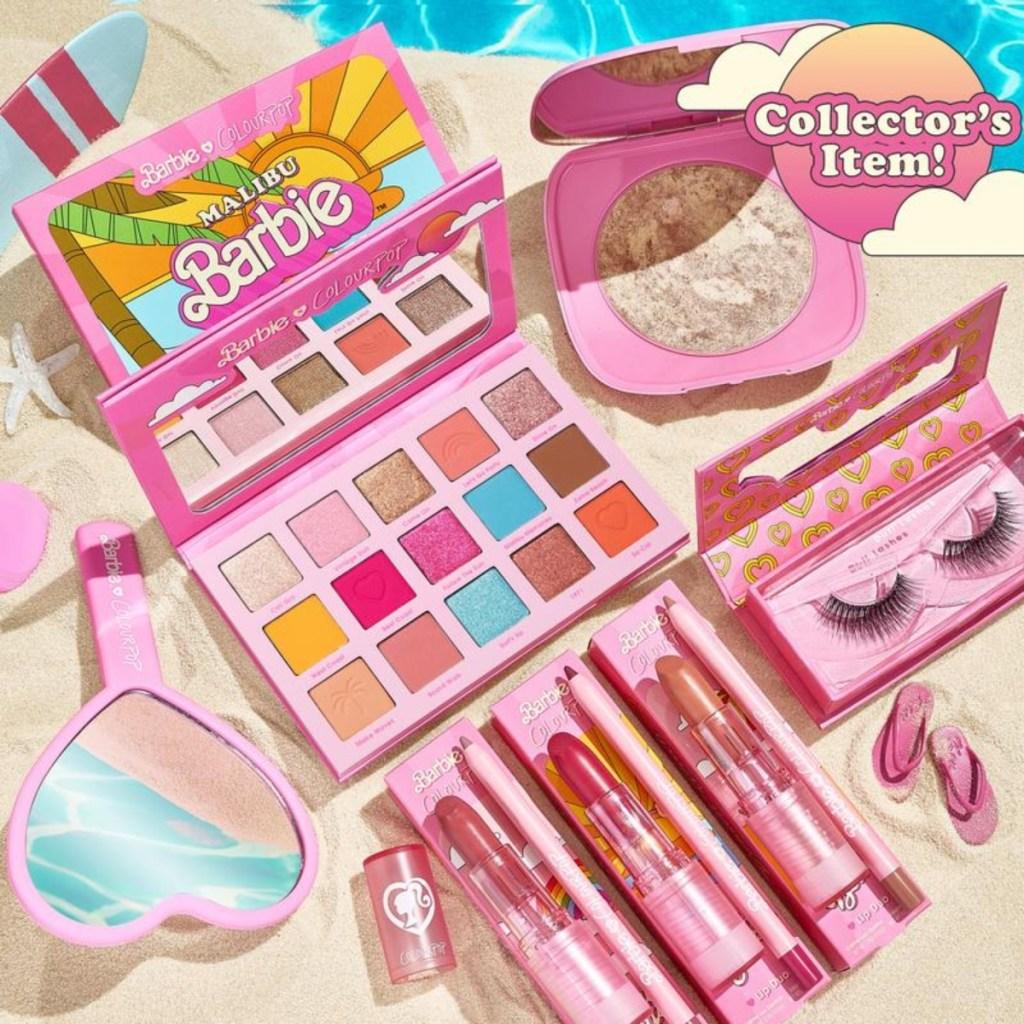 Malibu Barbie makeup set