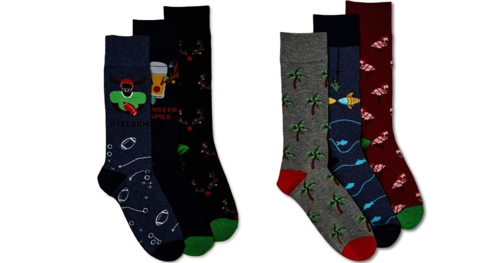 novelty mens socks