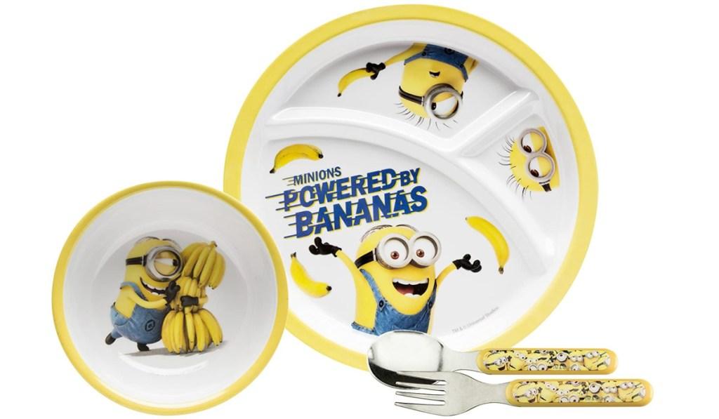 minions dinnerware