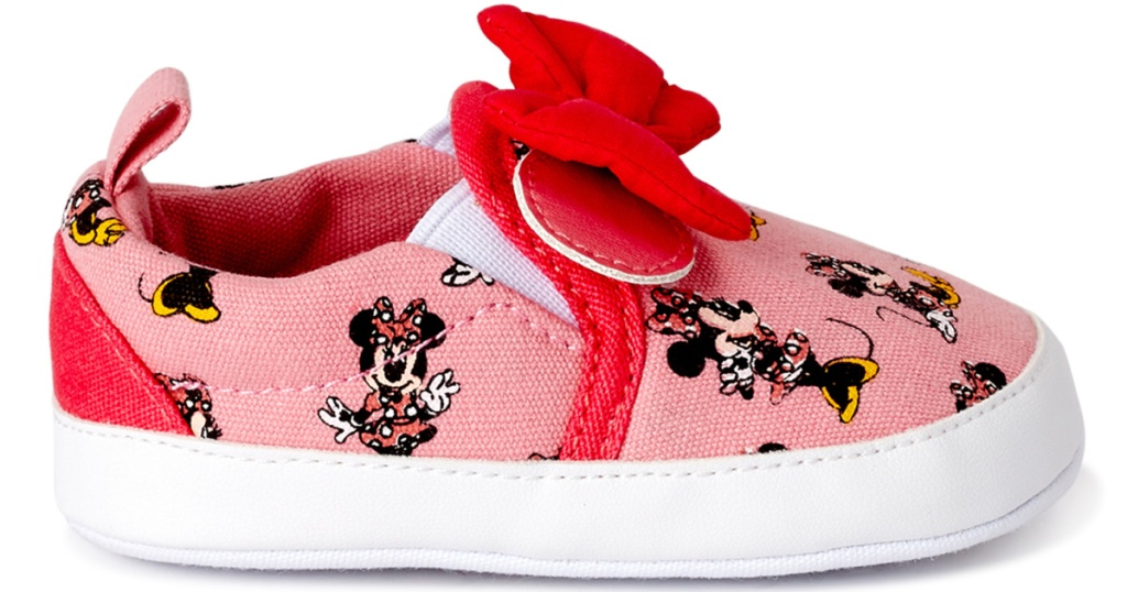 minnie mouse crib shoe