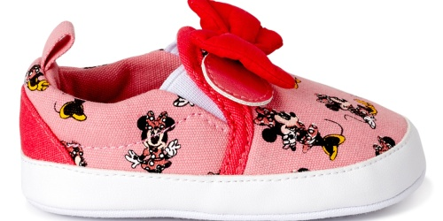 Disney Minnie Mouse Baby Shoes Just $6.29 on Walmart.com | Save on Dress Shoes, Slippers & More!