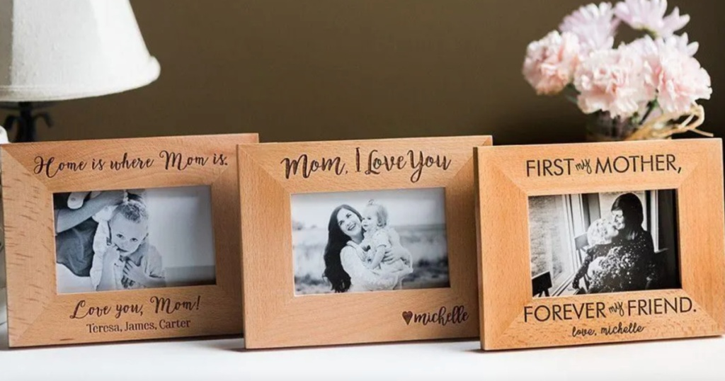 3 customized mom frames