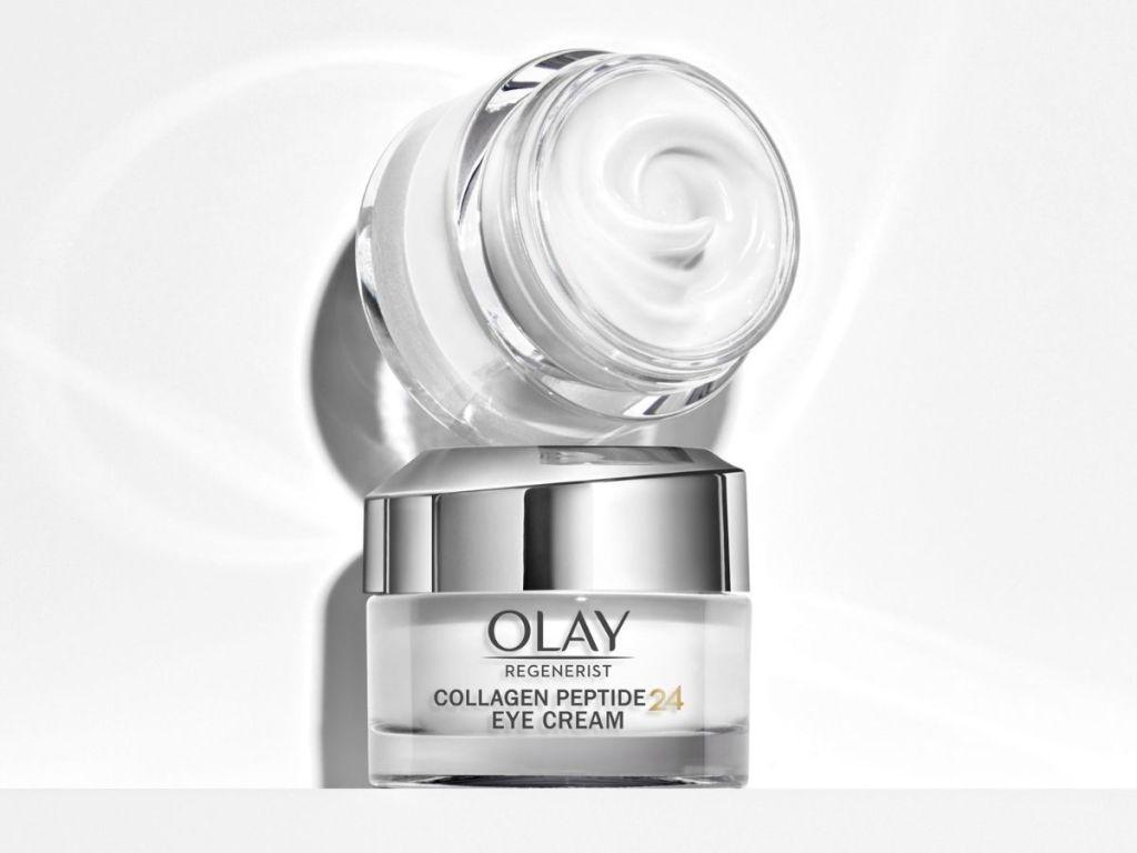 2 jars of olay eye cream
