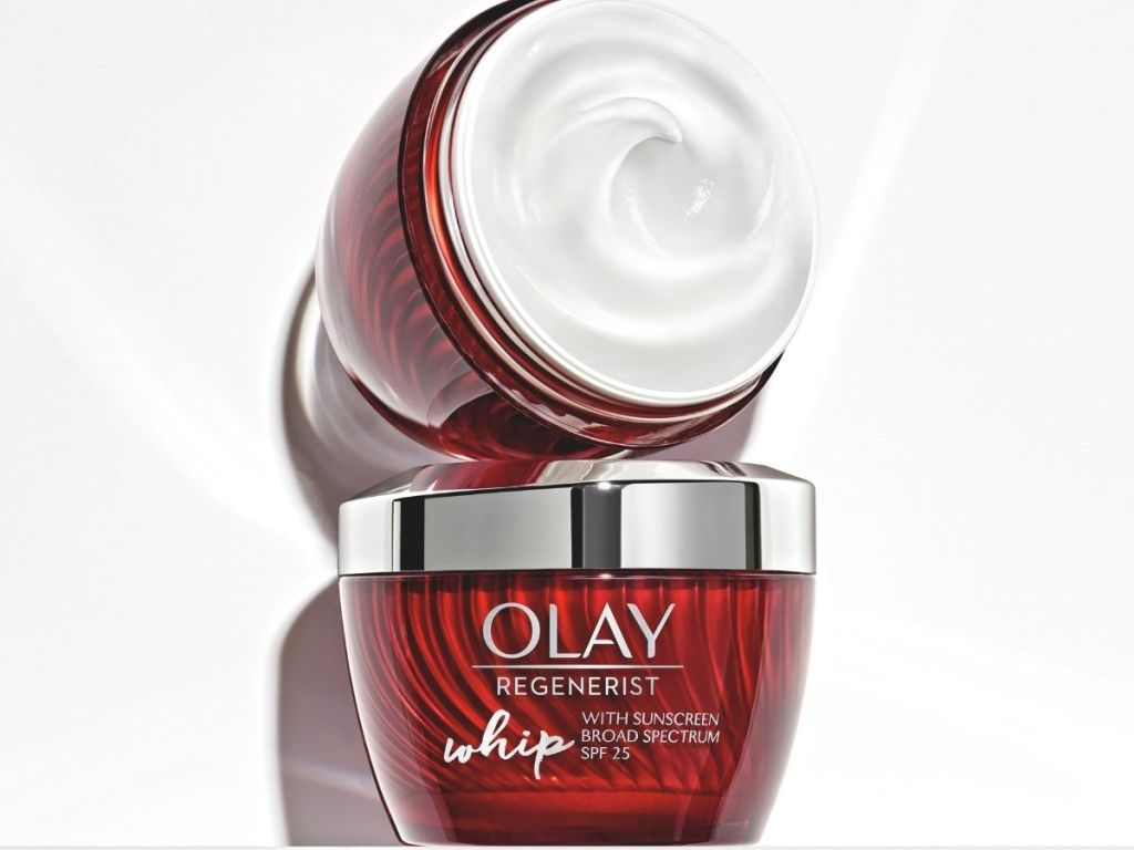 2 jars of olay lotion