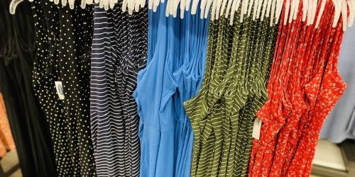Up to 65% Off Old Navy Dresses, Jumpsuits & Rompers