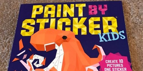 Buy One, Get One 50% Off Books on Amazon | Paint by Stickers Kids Books from $3.76 Each