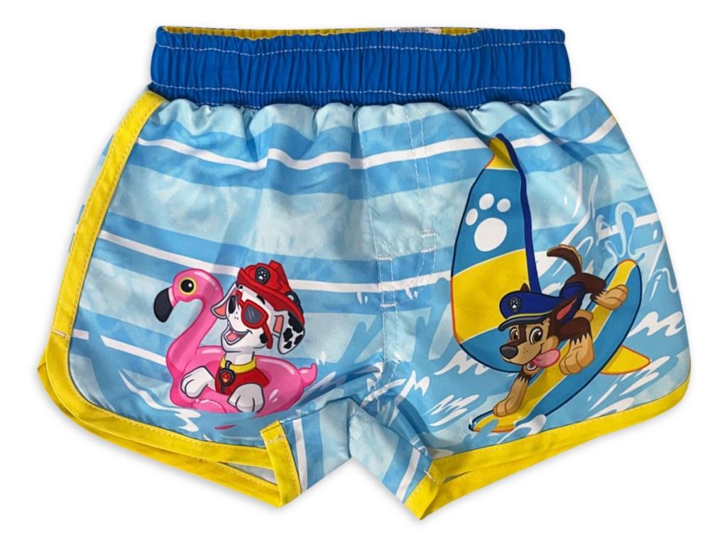 Paw patrol baby swim trunk