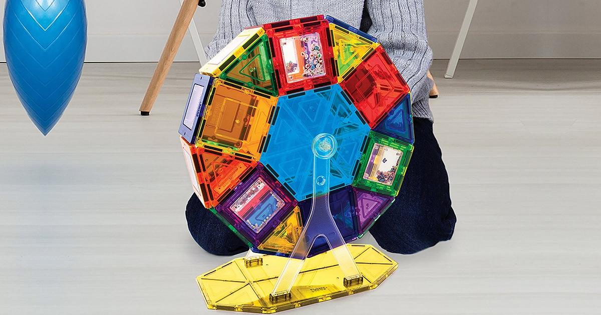picassotiles ferris wheel toy