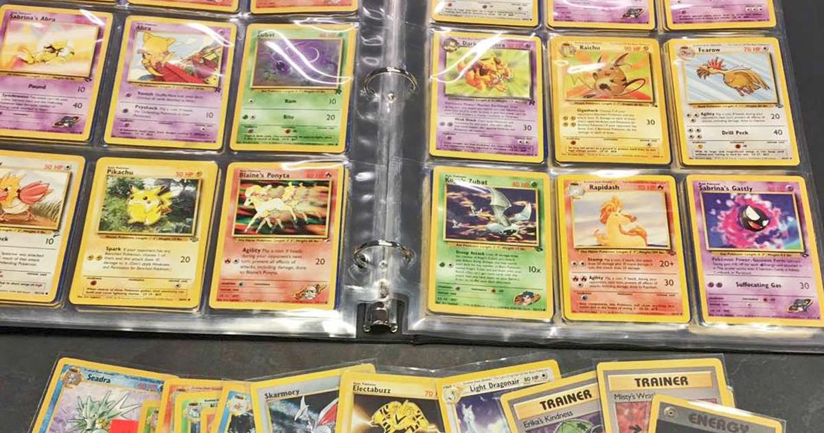 binder of pokemon cards