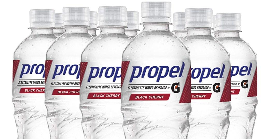 propel black cherry bottles