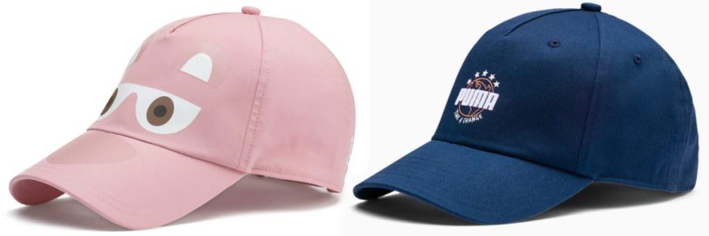 2 puma baseball caps