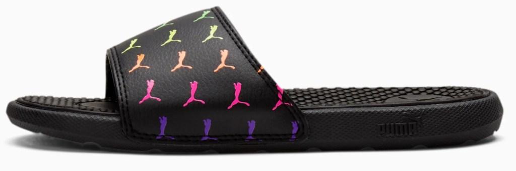 kids puma rainbow slides