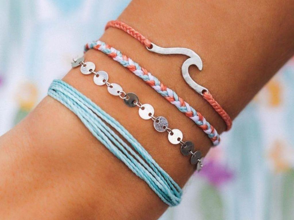 pura vida bracelets on wrist