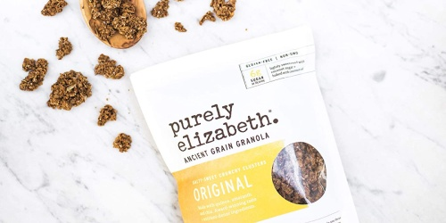 Purely Elizabeth Ancient Grain Granola 12oz Bag Only $2 Shipped on Amazon