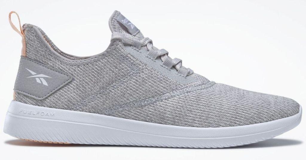 Reebok gray walking shoes