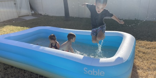 Family-Sized Inflatable Pool Only $45.99 Shipped on Amazon